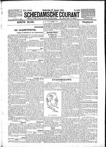 Schiedamsche Courant 1935-01-17