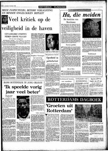Rotterdamsch Parool / De Schiedammer 1966-11-05