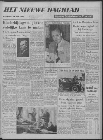 Nieuwe Schiedamsche Courant 1961-06-28
