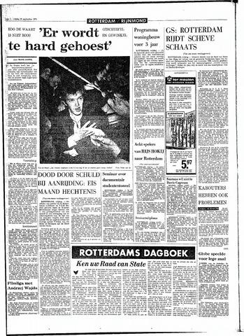 Rotterdamsch Parool / De Schiedammer 1970-09-25