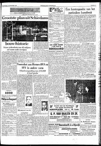 Rotterdamsch Nieuwsblad / Schiedamsche Courant / Rotterdams Dagblad / Waterweg / Algemeen Dagblad 1959-12-19
