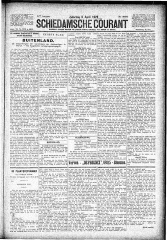 Schiedamsche Courant 1929-04-06