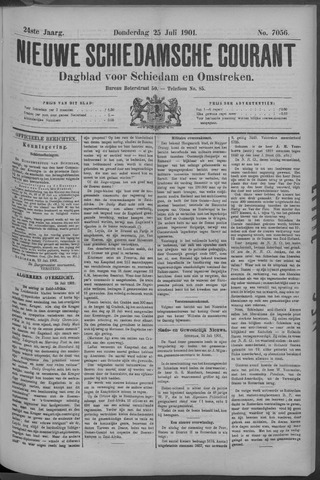 Nieuwe Schiedamsche Courant 1901-07-25