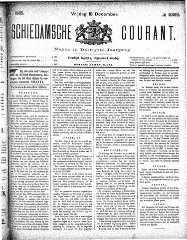Schiedamsche Courant 1885-12-18