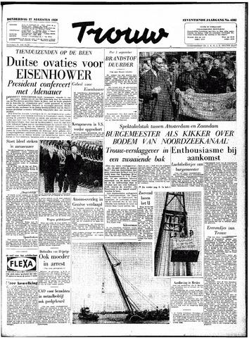 Trouw / De Rotterdammer 1959-08-27