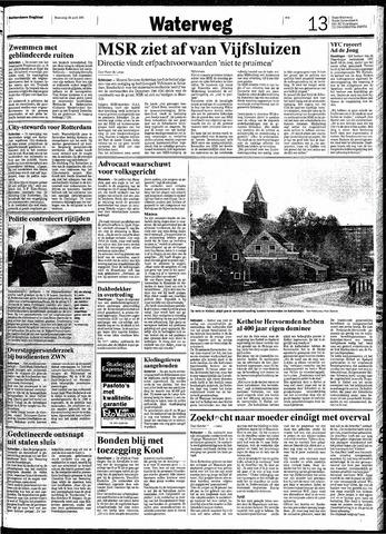 Rotterdamsch Nieuwsblad / Schiedamsche Courant / Rotterdams Dagblad / Waterweg / Algemeen Dagblad 1991-04-24