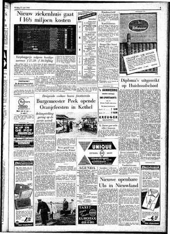 Rotterdamsch Parool / De Schiedammer 1961-07-21