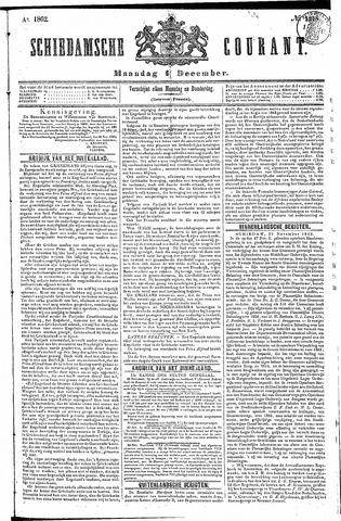 Schiedamsche Courant 1862-12-01
