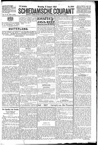 Schiedamsche Courant 1927-01-03