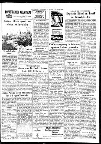Rotterdamsch Nieuwsblad / Schiedamsche Courant / Rotterdams Dagblad / Waterweg / Algemeen Dagblad 1964-09-22