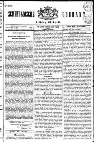 Schiedamsche Courant 1847-04-23