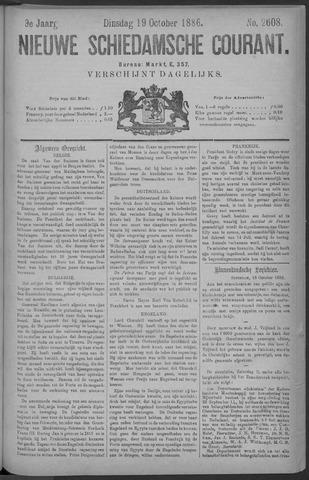 Nieuwe Schiedamsche Courant 1886-10-19