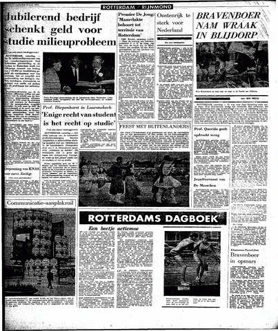 Rotterdamsch Parool / De Schiedammer 1970-06-13