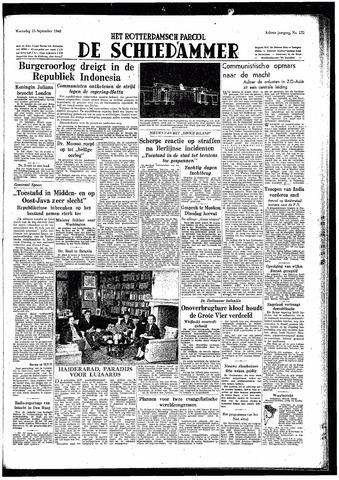 Rotterdamsch Parool / De Schiedammer 1948-09-15