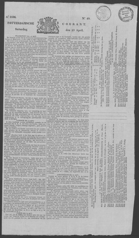 Rotterdamse Courant 1836-04-23
