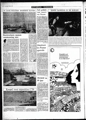 Rotterdamsch Parool / De Schiedammer 1970-03-02