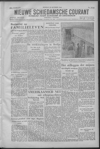 Nieuwe Schiedamsche Courant 1946-10-22