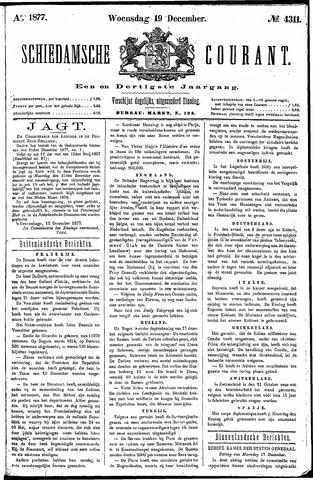Schiedamsche Courant 1877-12-19