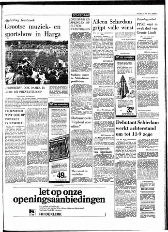 Rotterdamsch Parool / De Schiedammer 1970-05-11