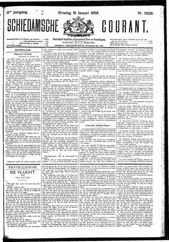 Schiedamsche Courant 1898-01-18