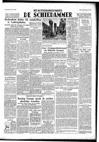 Rotterdamsch Parool / De Schiedammer 1948-07-29