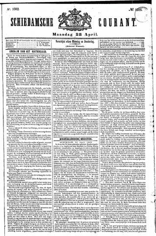 Schiedamsche Courant 1862-04-28