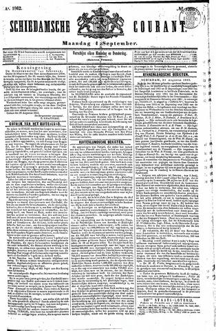 Schiedamsche Courant 1862-09-01