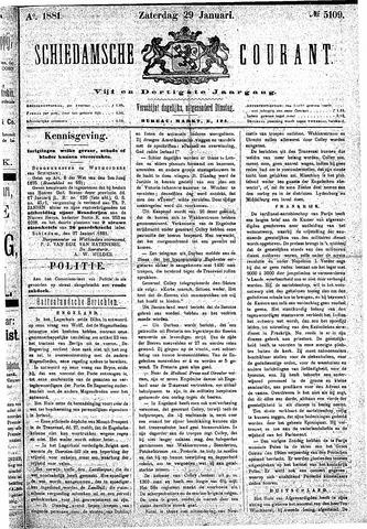 Schiedamsche Courant 1881-01-29