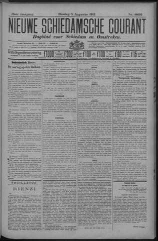 Nieuwe Schiedamsche Courant 1913-08-05