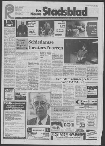 Het Nieuwe Stadsblad 1983-02-25