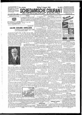 Schiedamsche Courant 1933-01-06