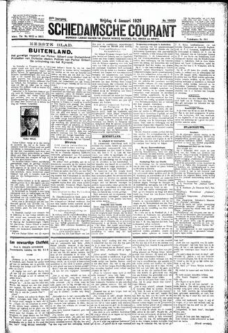 Schiedamsche Courant 1929-01-04
