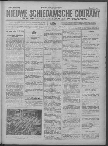 Nieuwe Schiedamsche Courant 1929-01-29