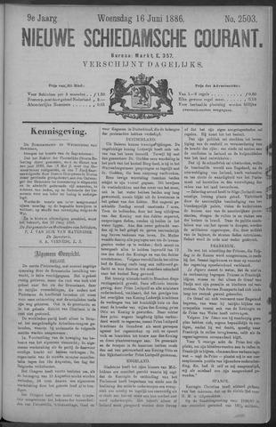 Nieuwe Schiedamsche Courant 1886-06-16