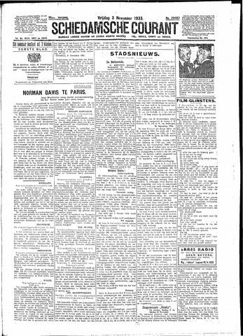 Schiedamsche Courant 1933-11-03