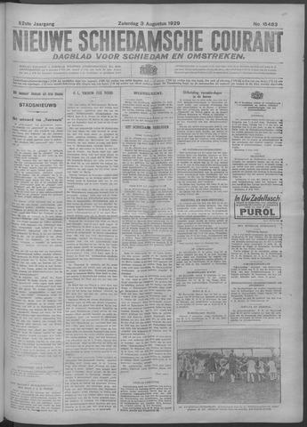 Nieuwe Schiedamsche Courant 1929-08-03
