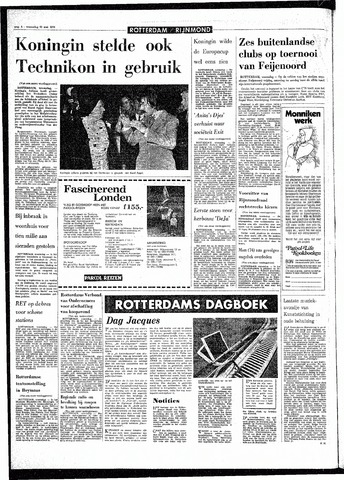 Rotterdamsch Parool / De Schiedammer 1970-05-20