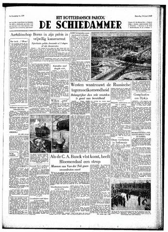 Rotterdamsch Parool / De Schiedammer 1949-06-18
