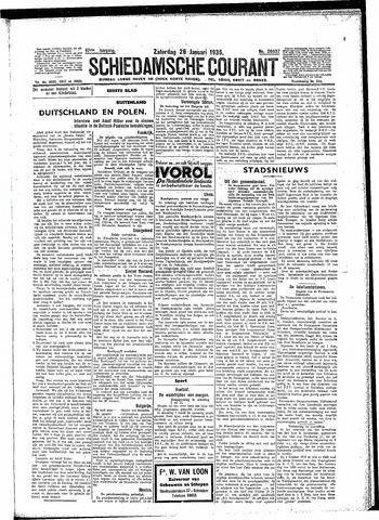 Schiedamsche Courant 1935-01-26