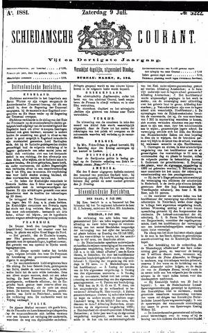 Schiedamsche Courant 1881-07-09
