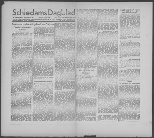 Schiedamsch Dagblad 1945-02-12