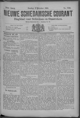 Nieuwe Schiedamsche Courant 1901-10-27