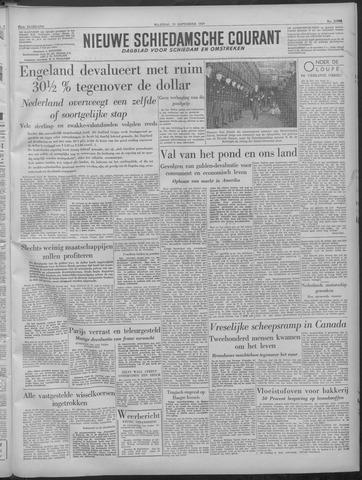 Nieuwe Schiedamsche Courant 1949-09-19