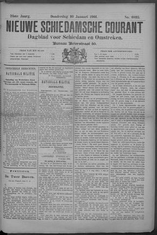 Nieuwe Schiedamsche Courant 1901-01-10