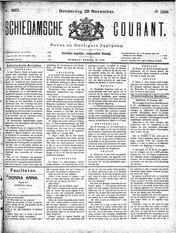 Schiedamsche Courant 1883-11-29