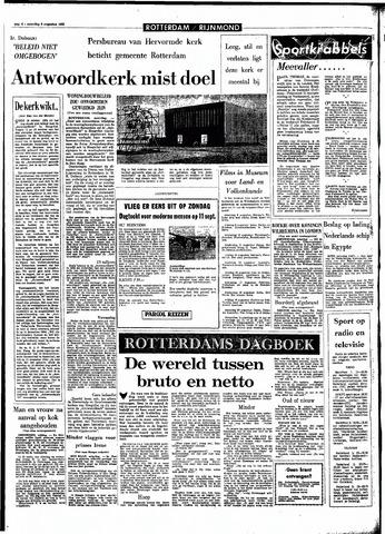 Rotterdamsch Parool / De Schiedammer 1966-08-06