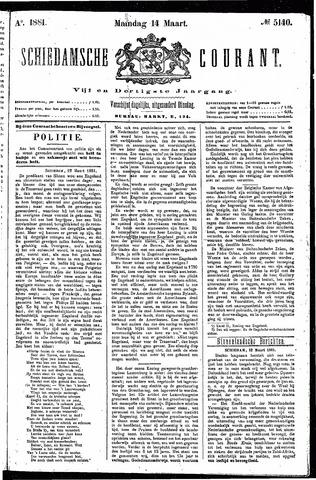 Schiedamsche Courant 1881-03-14