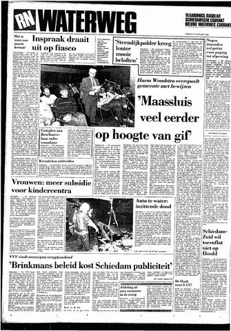 Rotterdamsch Nieuwsblad / Schiedamsche Courant / Rotterdams Dagblad / Waterweg / Algemeen Dagblad 1985-01-25