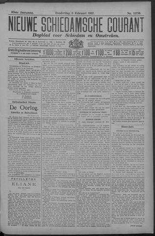 Nieuwe Schiedamsche Courant 1917-02-08