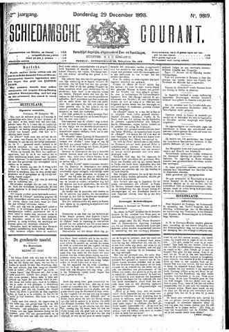 Schiedamsche Courant 1898-12-29